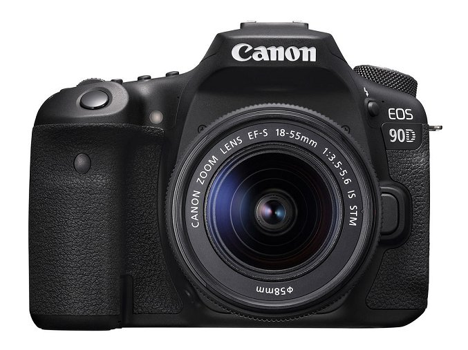 Canon EOS 90D + EF-S 18-55mm f/3,5-5,6 IS USM  + VIP SERVIS 3 ROKY + 64GB SD karta zadarmo + puzdro zadarmo