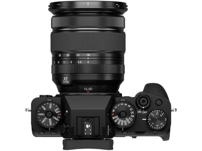 Fujifilm+X T4+kit+XF+16 80mm+f+4+R+OIS+WR+fekete 305078