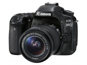 x Canon EOS 80D + Canon EF S 18 55mm F3.5 5.6 IS STM Black FTL