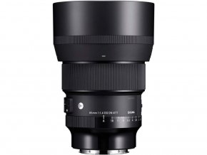 x Sigma 85mm F1.4 DG HSM A Black FT