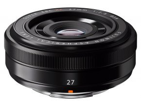 x Fujifilm Fujinon XF 27mm F28 R Black FT