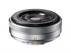 Fujifilm XF 27mm f/2,8 strieborný  + VIP SERVIS 3 ROKY + UV filter zadarmo