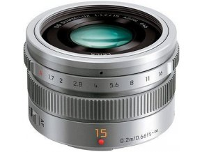 PANASONIC LEICA DG SUMMILUX 15MM silver