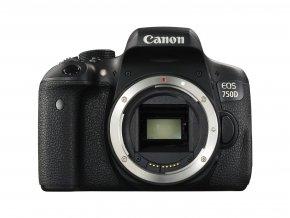 Canon EOS 750D telo  + VIP SERVIS 3 ROKY + 32GB SD karta zadarmo + puzdro zadarmo