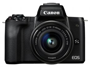 x Canon EOS M50 + EF M 15 45mm F3.5 6.3 IS STM Black F