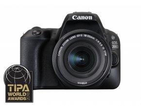 Canon EOS 200D + 18-55mm DC III  + VIP SERVIS 3 ROKY + 32GB SD karta zadarmo + puzdro zadarmo