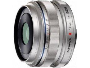 Olympus M.ZUIKO Digital 17mm f1.8 strieborný