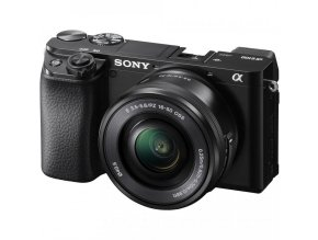 Sony Alpha a6100 Mirrorless Digital Camera with 16 50mm Lenses