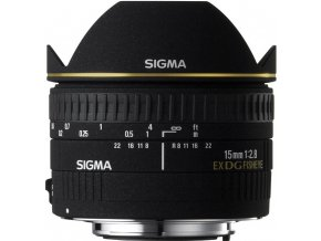 Sigma 15mm f2,8 DG FishEye DIAGONAL Nikon