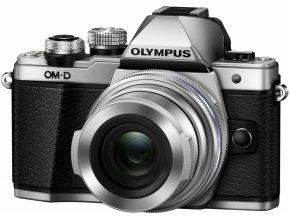 Olympus E M10 Mark II silver