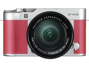 Fujifilm X A3 + XC16 50mm II ružový