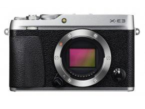 Fujifilm X E3 strieborný
