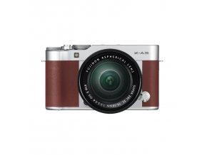 Fujifilm X E3 + C 16 50mm f3.5 5.6 OIS II hnedý