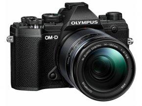 Olympus OM D E M5 Mark III čierny + M.ZUIKO DIGITAL 14 150mm