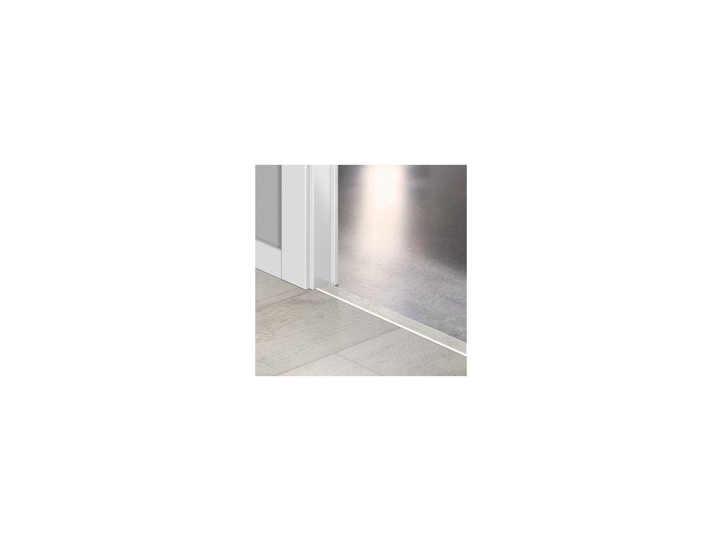 Přechodový profil Quick-Step INCIZO 5v1 Týk bílý bělený