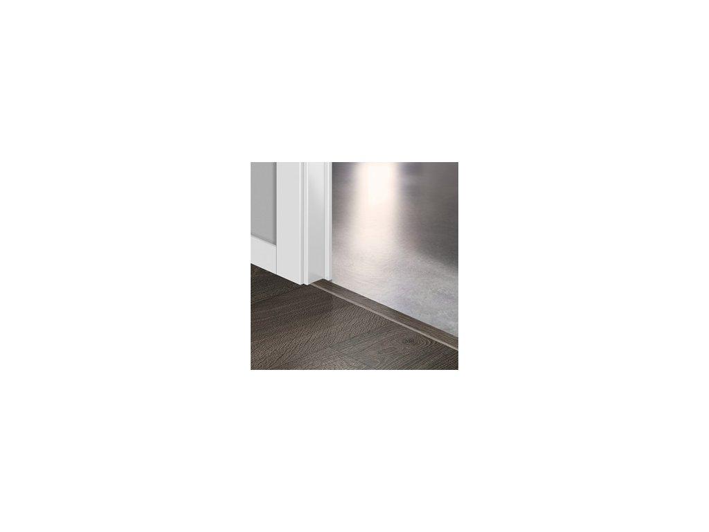 Přechodový profil Quick-Step INCIZO 5v1 Dub letitý tmavá