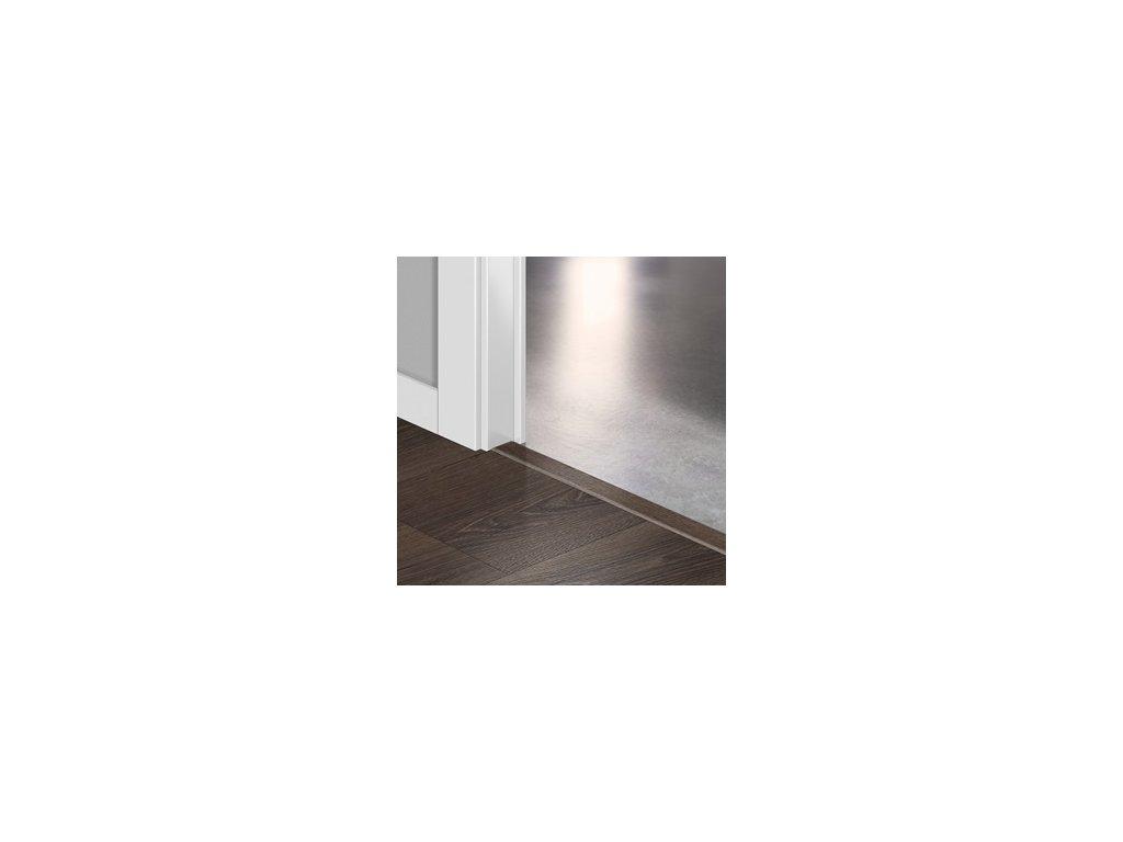 Přechodový profil Quick-Step INCIZO 5v1 Pouštní dub kartáčovaný tmavě hnědý