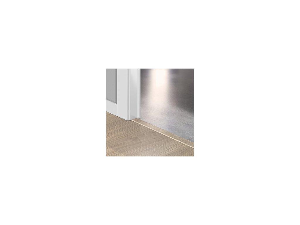 Přechodový profil Quick-Step INCIZO 5v1 Dubová světlešedá lakovaná