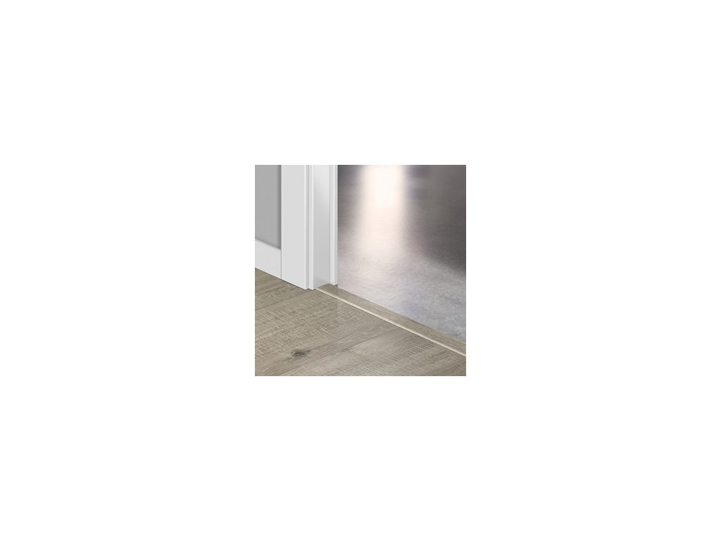 Přechodový profil Quick-Step INCIZO 5v1 Dub šedý se zářezy po pile