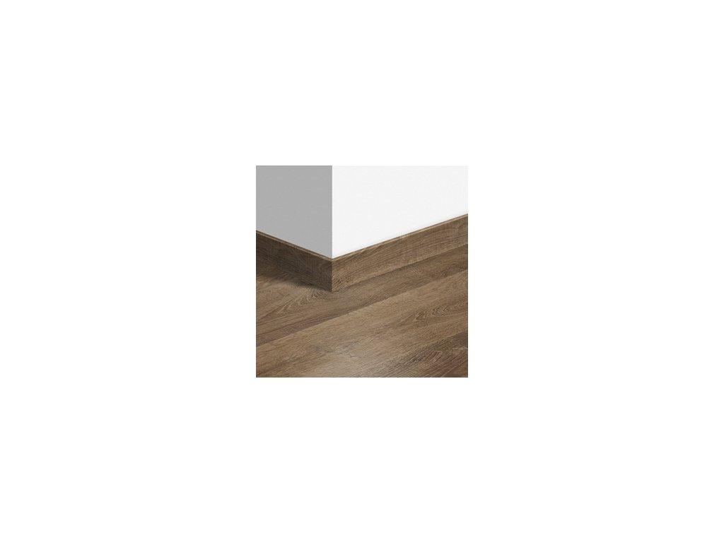Soklová lišta standardní Dub Riva hnědý