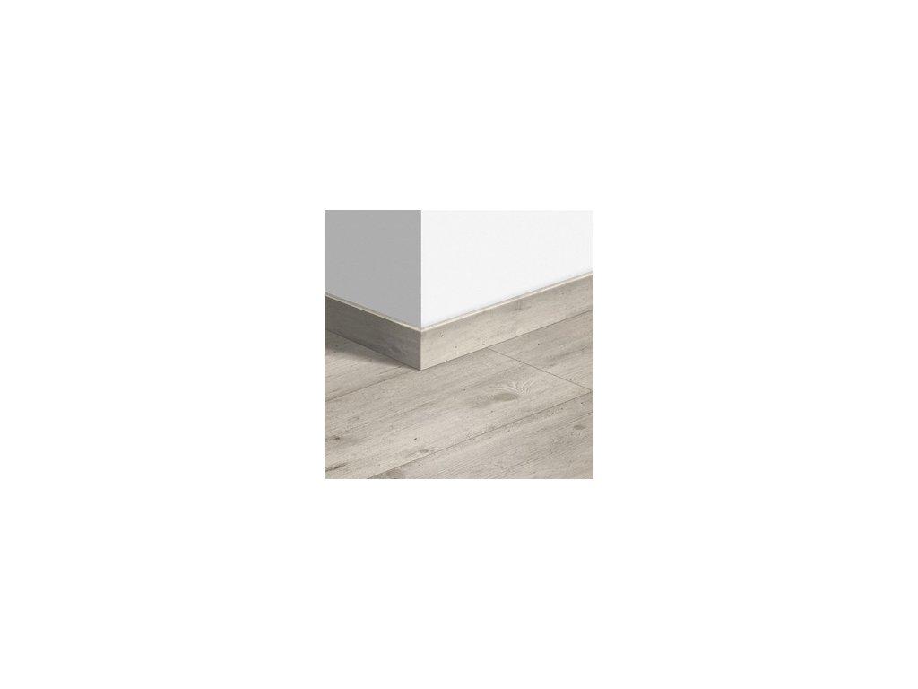 Soklová lišta standardní Dřevo a beton světle šedý