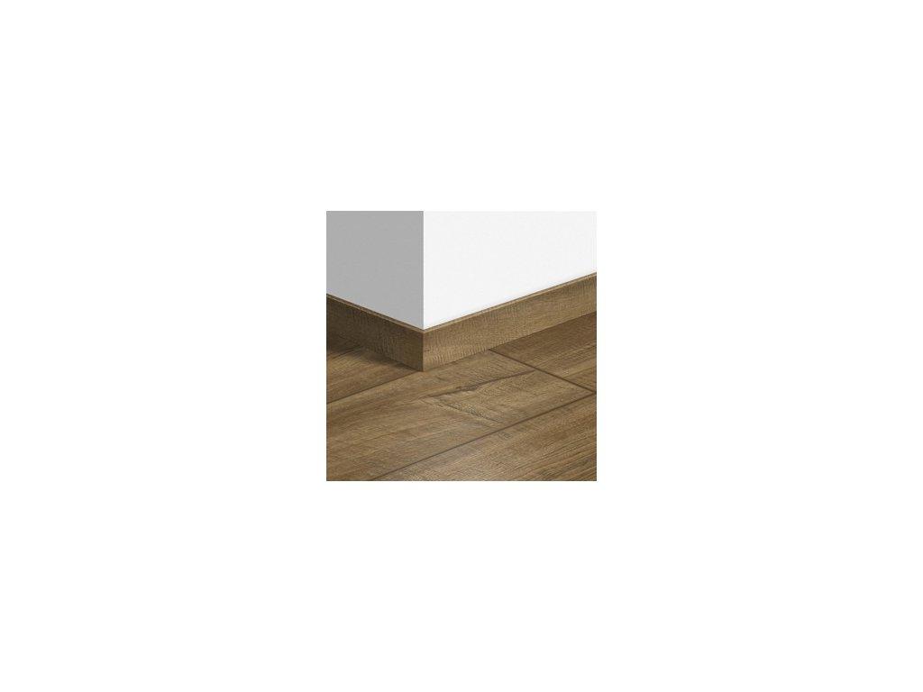 Soklová lišta standardní Dub hoblovaný šedohnědý