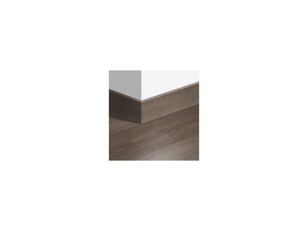 Soklová lišta dřevěná Dubová šedá výběrová