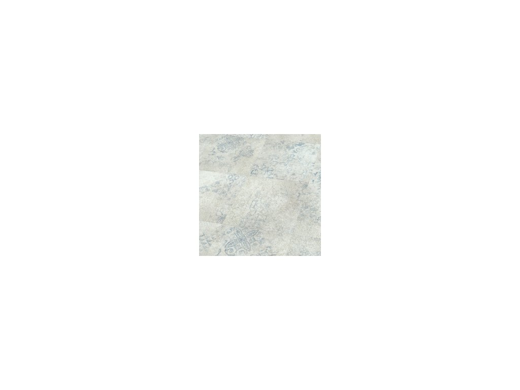 Blue Stencil Concrete | 5869