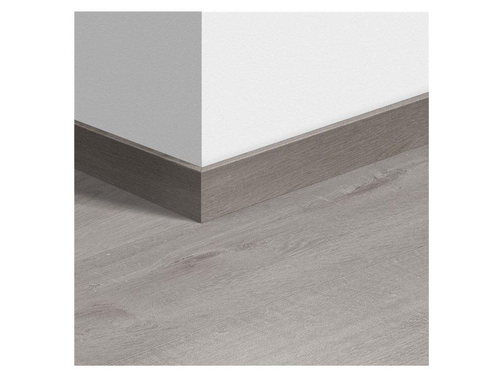 Standardní soklová lišta Dub bavlna chladný šedý