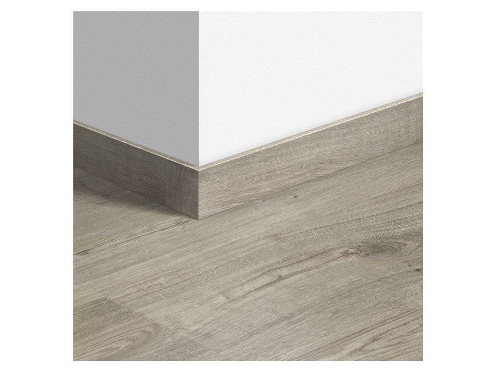 Standardní soklová lišta Dub podzimní teplý šedý 40089