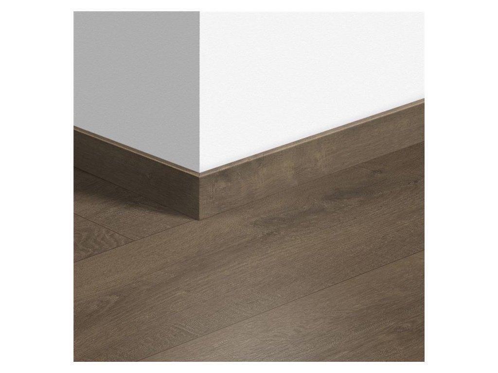 Standardní soklová lišta Sametový dub hnědý 40160