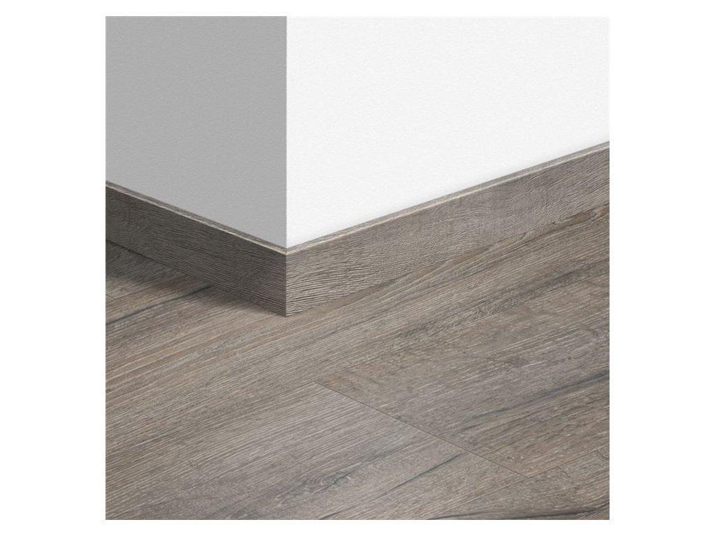Standardní soklová lišta Dub tradiční šedý 40037