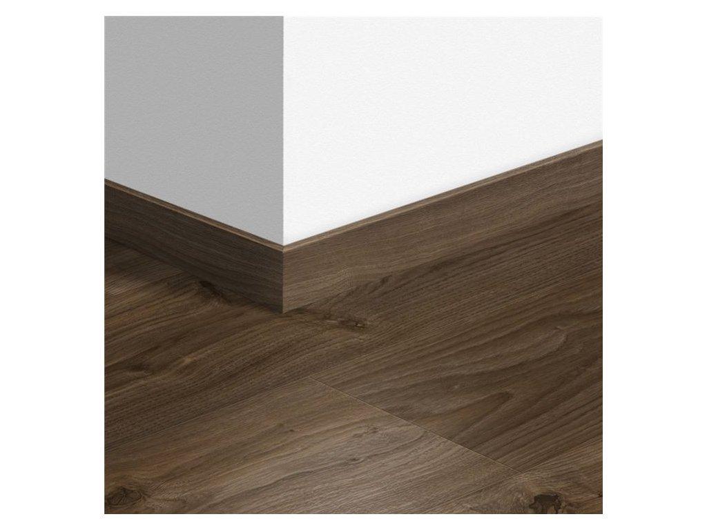 Standardní soklová lišta Venkovský dub tmavě hnědý 40027