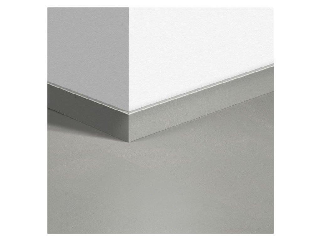 Standardní soklová lišta Minimalistická světle šedá 40139