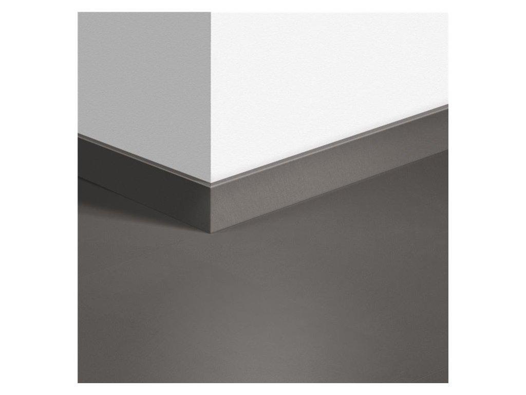 Standardní soklová lišta Minimalistická středně šedá 40140
