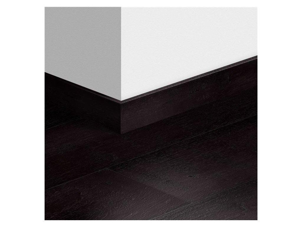 Soklová lišta standardní Dub natřený černý