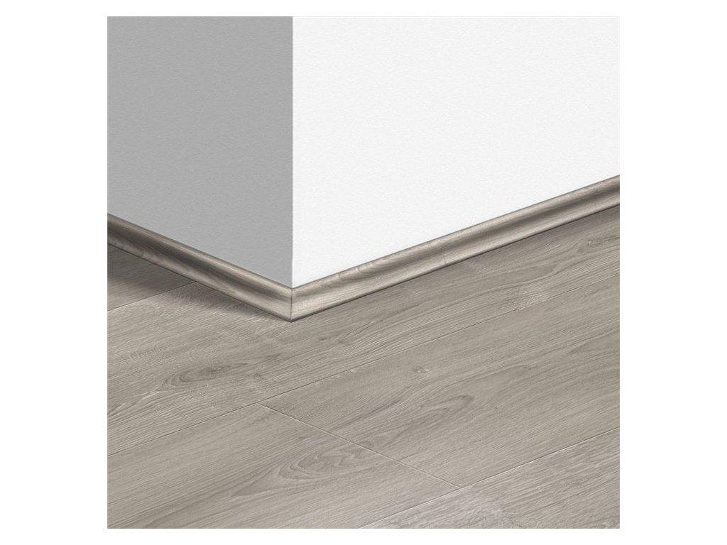 Soklová lišta Scotia Dub kartáčovaný šedý