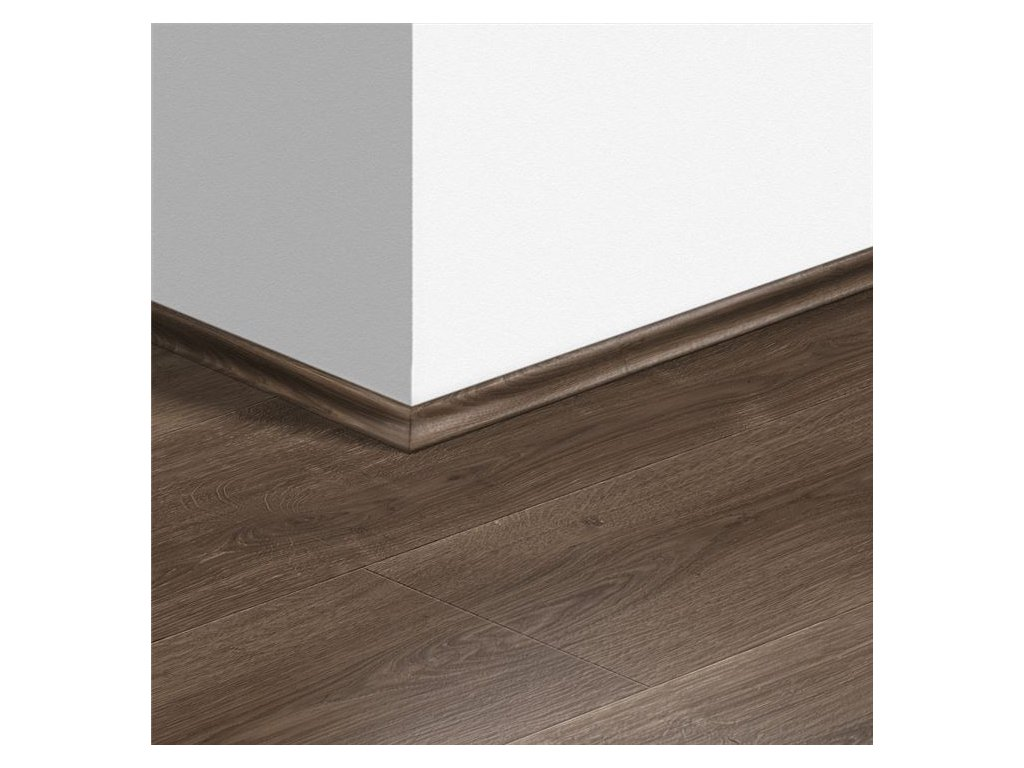 Soklová lišta Scotia Dub kartáčovaný hnědý
