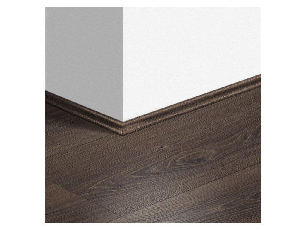 Soklová lišta Scotia Pouštní dub kartáčovaný tmavě hnědý