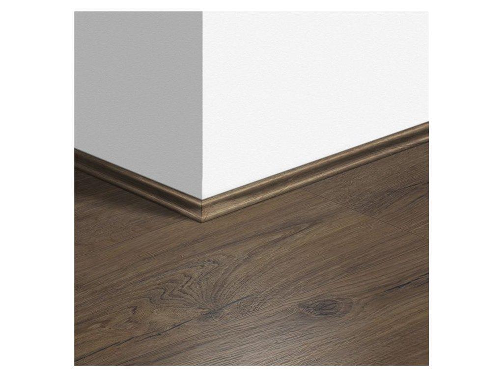 Soklová lišta Scotia Dub klasický hnědý