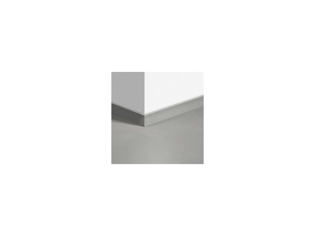 Soklová lišta Minimalistická světle šedá