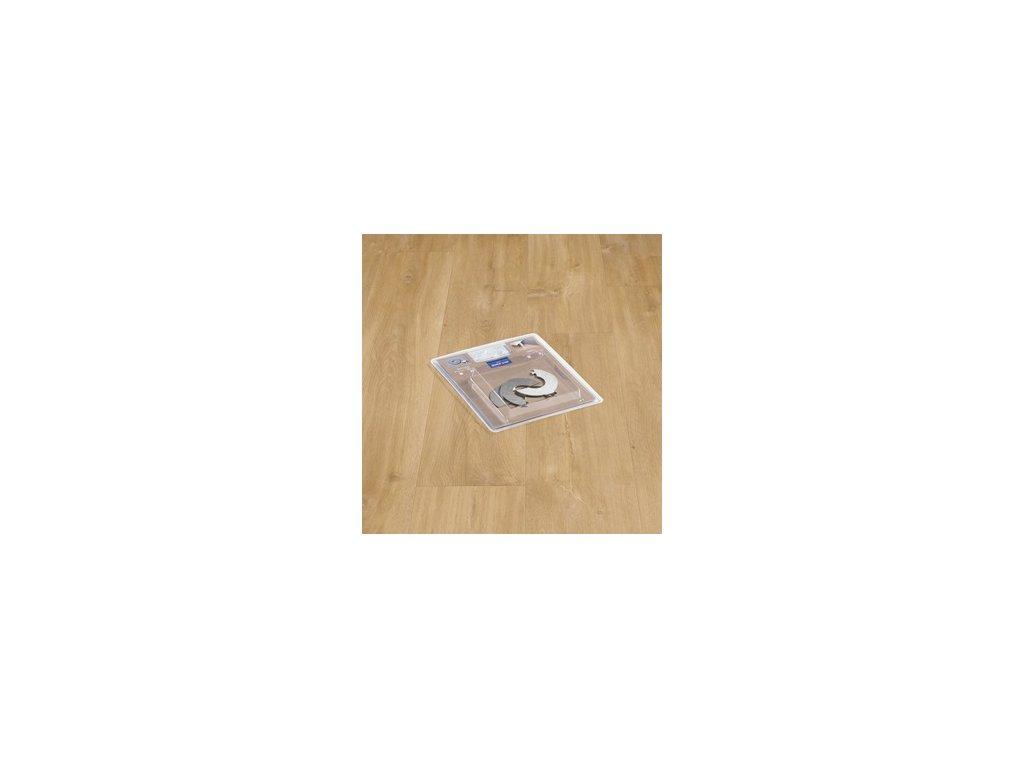 Rozeta k radiátorům z nerezové oceli (diam. 15 mm)