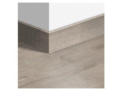 Soklová lišta dřevěná Dub Dominicano šedý