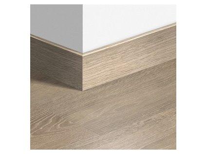 Soklová lišta dřevěná Largo (sladěná barva)