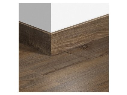 Soklová lišta dřevěná Dub Cambridge tmavý