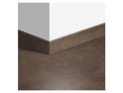 Soklová lišta standardní Leštěný tmavý beton