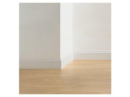 Natíratelná podlahová lišta Ogee