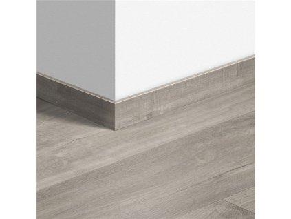 Standardní soklová lišta Kaňonový dub šedý s řezy pilou 40030