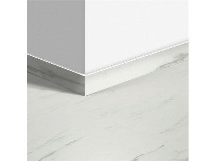 Standardní soklová lišta Mramorová dlažba bílá 40136