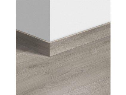 Soklová lišta standardní Dub kartáčovaný šedý